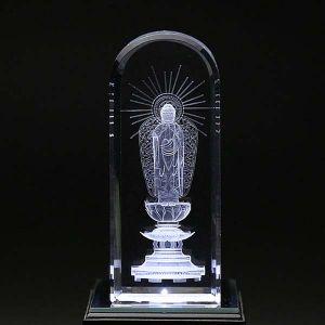 クリスタル お仏像 阿弥陀如来像3